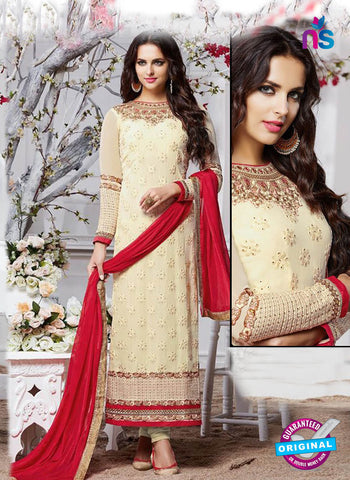 Zubeda 12901 Beige Party Wear Suit