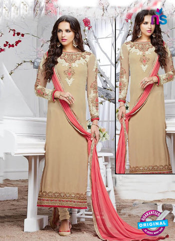 Zubeda12904 Beige Party Wear Suit