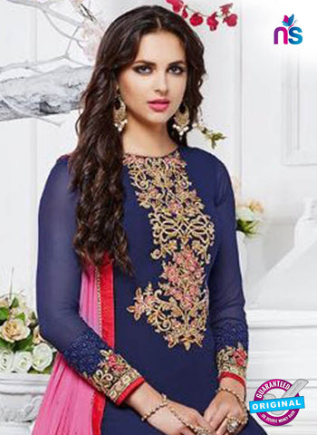 Zubeda 12905 Blue Party Wear Suit
