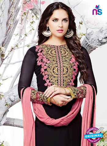 Zubeda 12907 Black Party Wear Suit