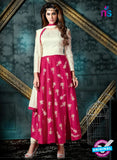 AZ 3989 Pink Georgette Anarkali Suit