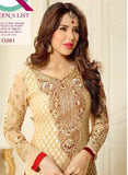 Lavina 13303  Gold Color Brasso Designer Suit