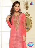 Lavina 13007  Peach Color Pakistani Style Designer Suit
