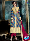 AZ 3994 Multicolor Georgette Indo Western Suit