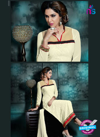 Akira 13012 White Georgette Party Wear Suit Online