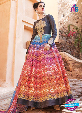 Arihant 13028 Multicolor Anarkali Suit