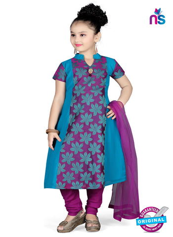 RT 13132 Purple Readymade Straight Fit suits