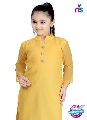 RT 13133 Yellow Readymade Straight Fit suits