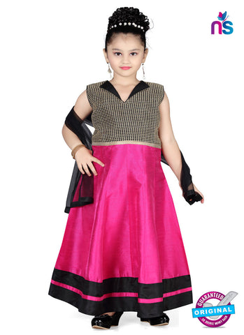 RT 13146 Dark Pink Readymade Anarkali Suit