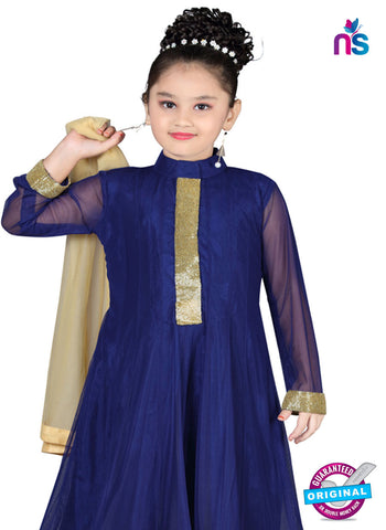 RT 13148 Navy Blue Readymade Anarkali Suit