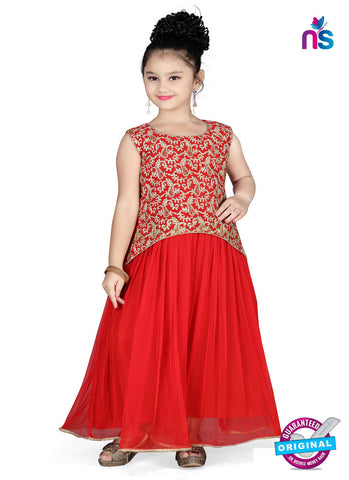 RT 13151 Red Readymade Gown