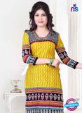 SC 13143 Yellow and Red Cotton Salwar Suit Online