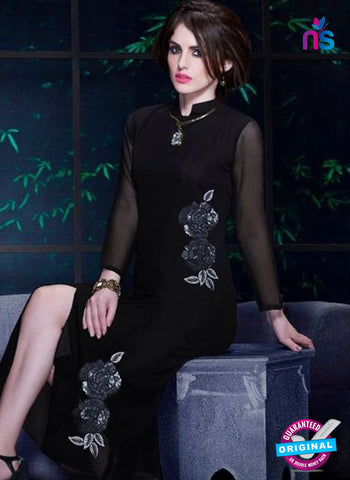 Titli 131 Black Indo Western Tunic