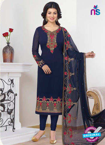 Zubeda 13201 Blue Party Wear Suit