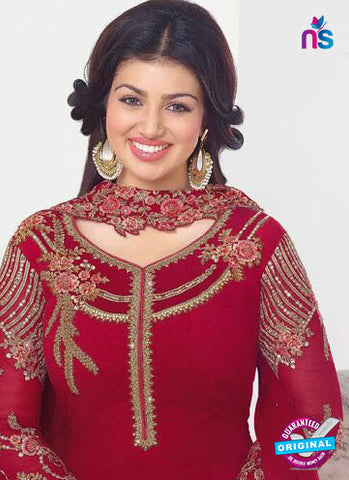 Zubeda 13203 Maroon Party Wear Suit