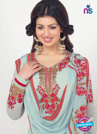 Zubeda 13206 Sky Blue Party Wear Suit