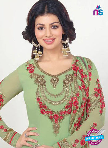 Zubeda 13207 Green Party Wear Suit