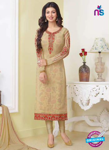 Zubeda 13306 Beige Party Wear Suit