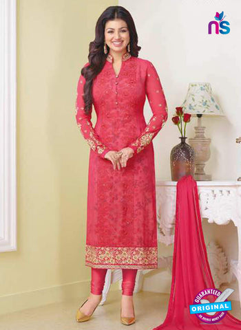 Zubeda 13307 Red Party Wear Suit