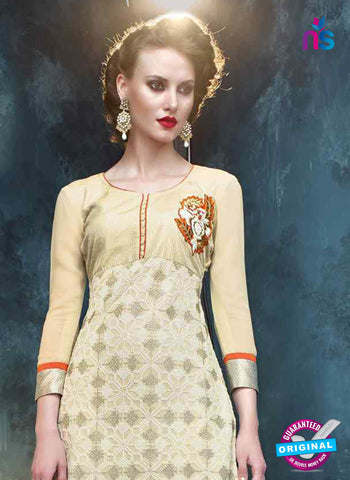 RT 13186 Yellow Georgette Party Wear Straight Suit