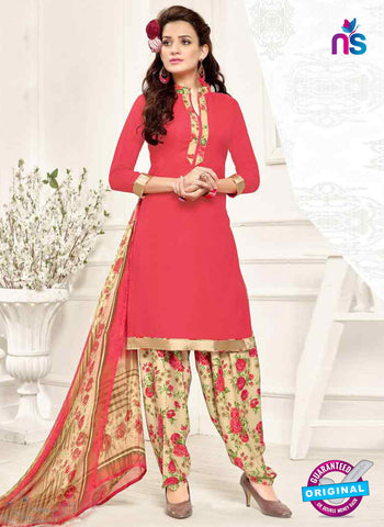 RT 13187 Peach Crepe Designer Fancy Patiala Suit