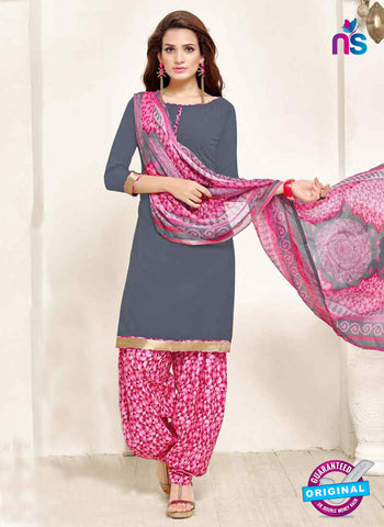 RT 13189 Grey Crepe Designer Fancy Patiala Suit
