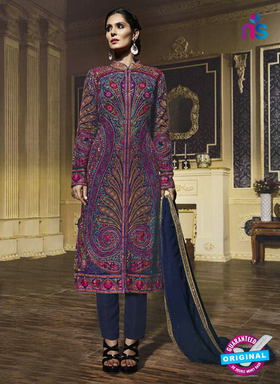 Bela 1355 Multicolor Designer Pakistani Suit