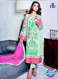 SC 13135 Green and Pink Embroidered Georgette Pakistani Suit