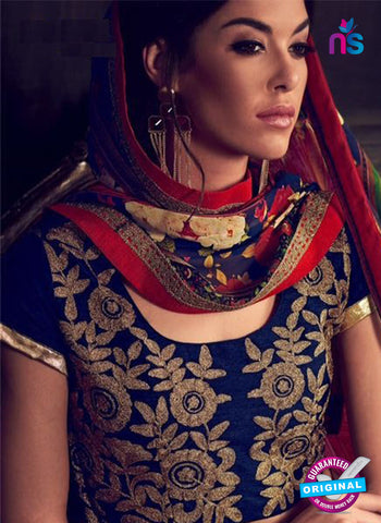 Rajtex Khwaab 14006 Blue Banglori Silk Party Wear Lehenga Online