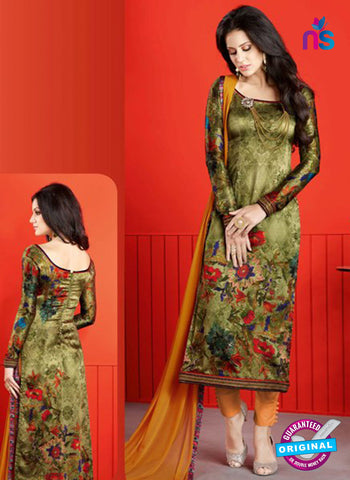 Raaga 1409 Green Formal Suit