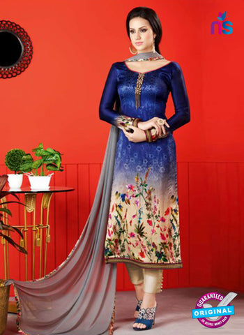 Raaga 1410 Blue Formal Suit