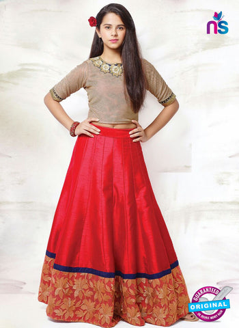RT 14310 Red Lehenga Choli