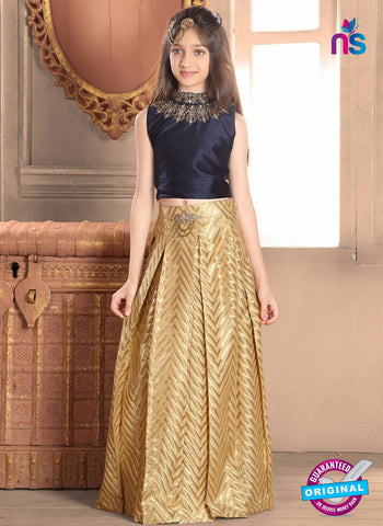 RT 14311 Golden Lehenga Choli