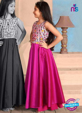 RT 14317 Magenta Gown