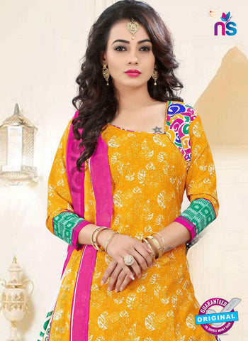 RT 16469 Yellow Patiala Suit