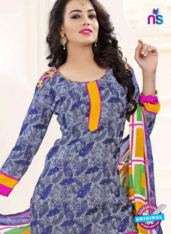 RT 16470 Grey Patiala Suit