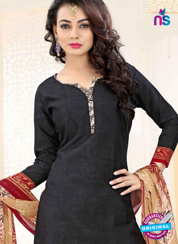 RT 16471 Black Patiala Suit