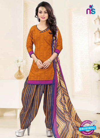 RT 16472 Yellow Patiala Suit