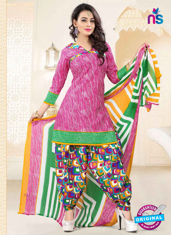 RT 16473 Pink Patiala Suit