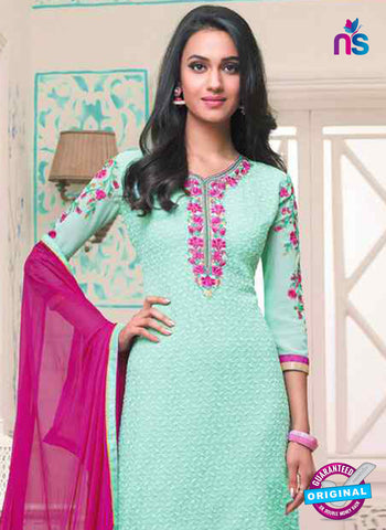 RT 14589 Sea Green Party Wear Suit