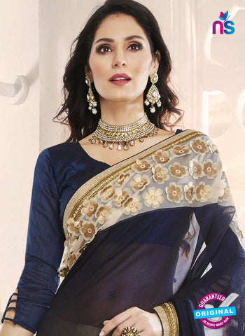 RT 14641 Blue Party Wear Saree