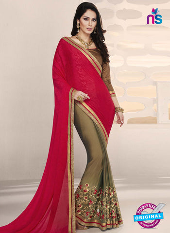 RT 14643 Golden Party Wear Saree