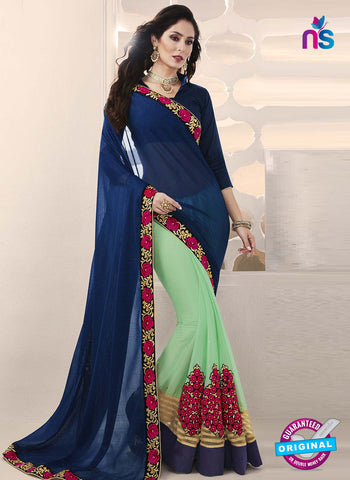 RT 14645 Sea Green Party Wear Saree