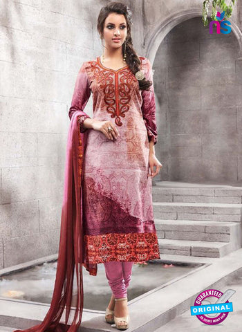 Kesari 1464 Purple Cotton Fomal Suit