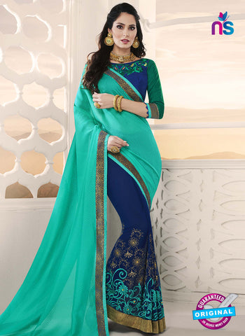 RT 14651 Blue Party Wear Saree