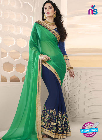 RT 14653 Blue Party Wear Saree
