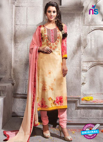Kesari 1465 Beige Cotton Fomal Suit