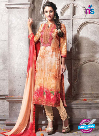 Kesari 1468 Beige Cotton Fomal Suit
