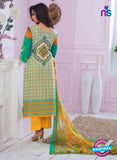 Rivaa14704B Yellow & White Color Cotton Designer Suit