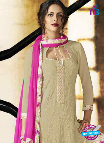 RT 14887 Beige Plazo Suit